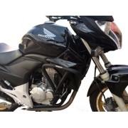 Protetor Motor E Carenagem Coyote Honda Cb 300 Com Pedaleira
