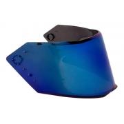 Viseira Bieffe B12 Iridium Azul Original