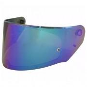 Viseira Capacete Ls2 Ff320/ff353 Original Iridium Rainbow