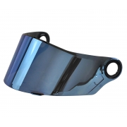 Viseira Capacete LS2 FF358 Classic Iridium Blue Azul Original