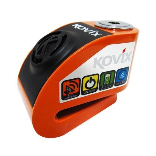 Cadeado Disco C/ Alarme Kovix Kd6 Laranja