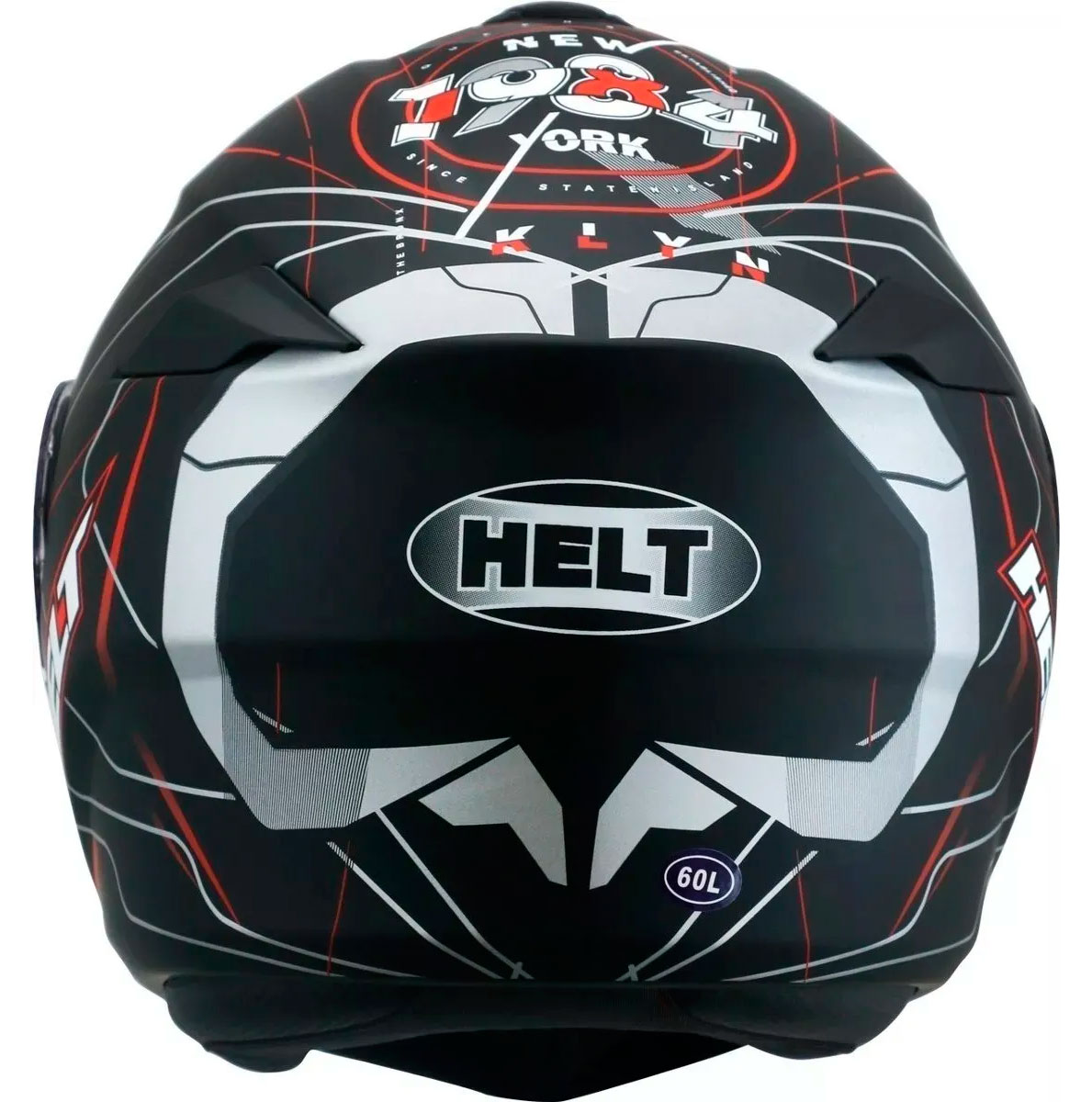 Capacete Helt New Hippo Trace Escamoteavel