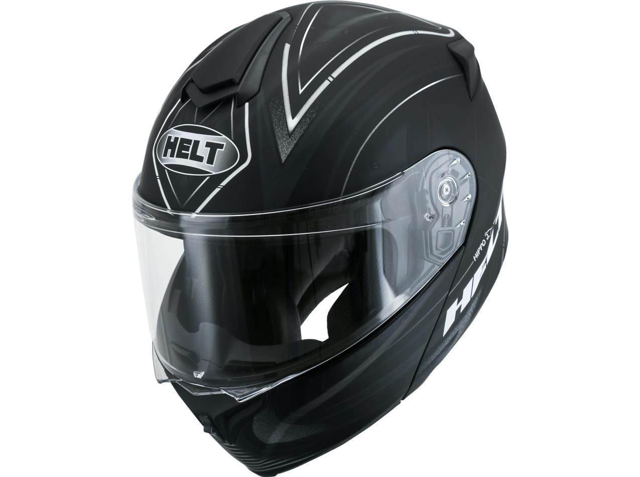 Capacete Helt New Hippo Wave II Escamoteavel