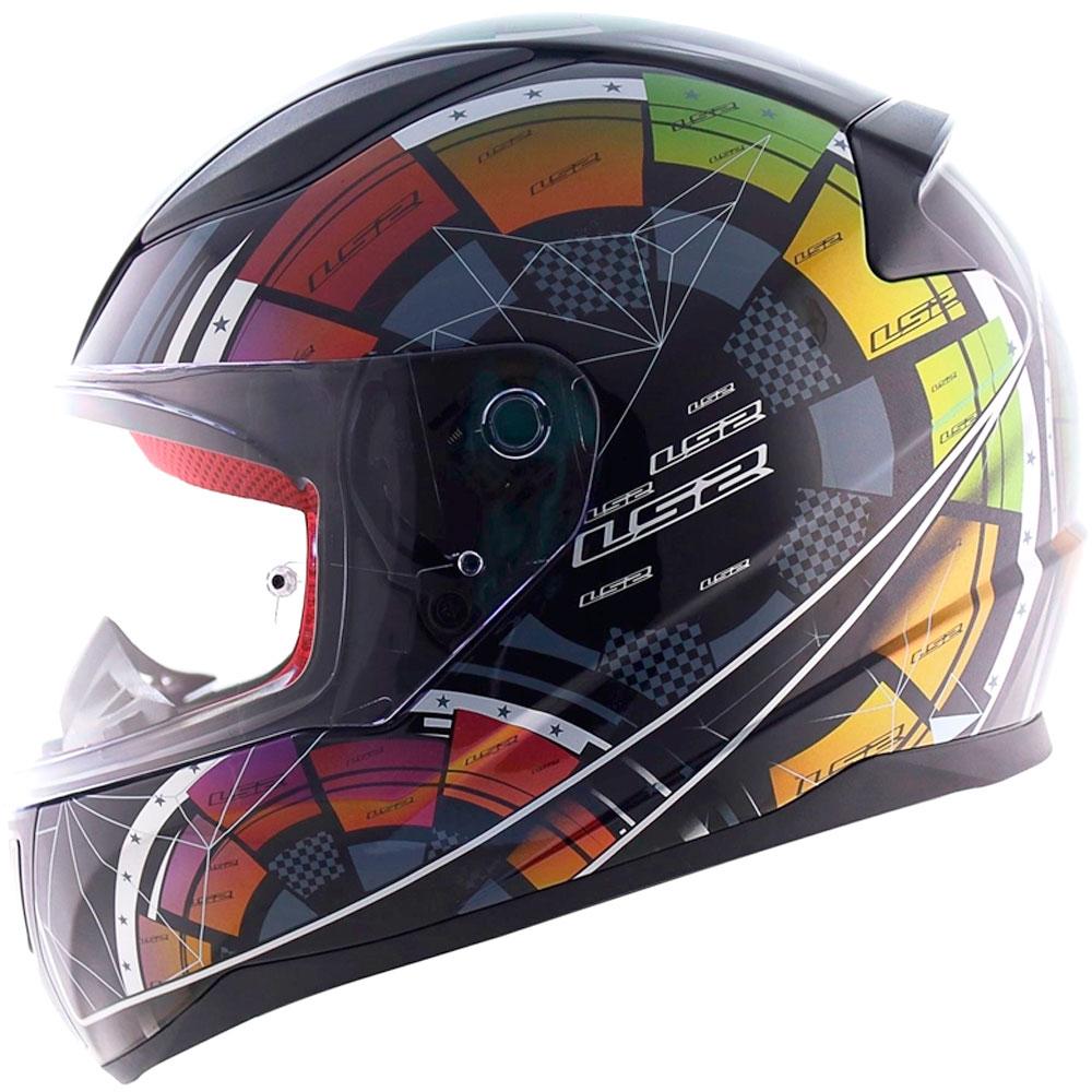 Capacete LS2 FF353 Rapid Tech Chamaleon