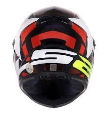 Capacete LS2 FF358 Classic Starwar Vermelho/ Branco