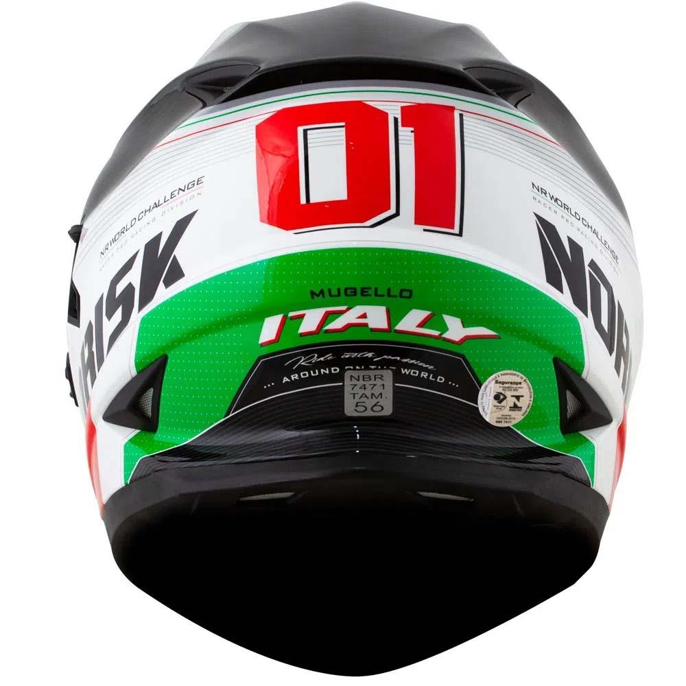 Capacete Norisk FF302 Grand Prix Italy