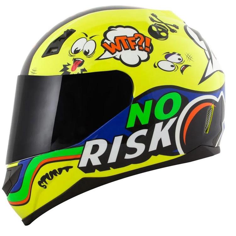 Capacete Norisk FF391 Panic Amarelo Fluo