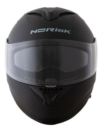Capacete Norisk Force Monocolor Preto Fosco