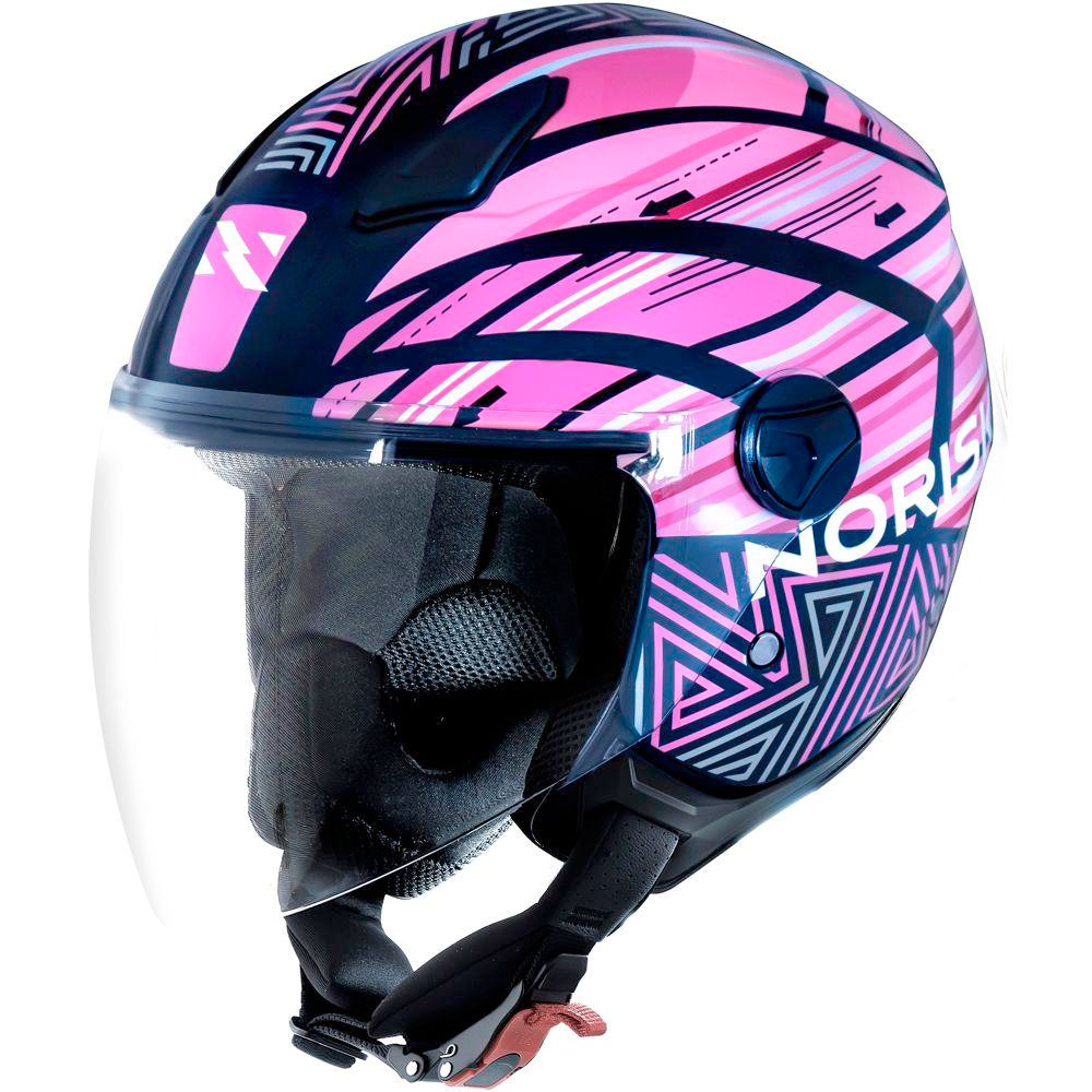 Capacete Norisk Orion Aberto Journey Pink