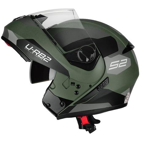 Capacete Peels U-RB2 Urban Sync Verde Militar Fosco