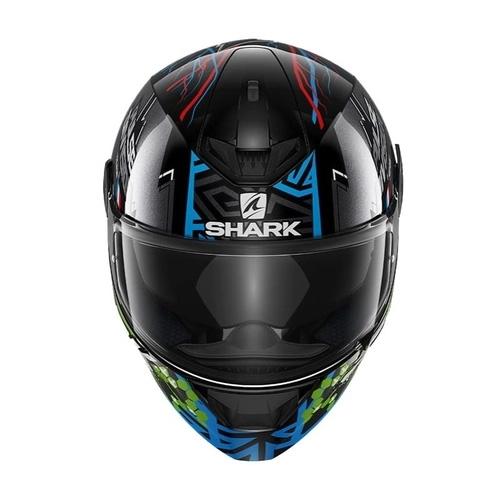Capacete Shark D- Skwal 2 Noxxys KBG Preto/ Azul