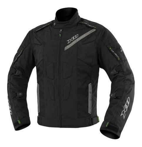 Jaqueta X11 Evo 3 Masculina Preto Moto Proteção Impermeável