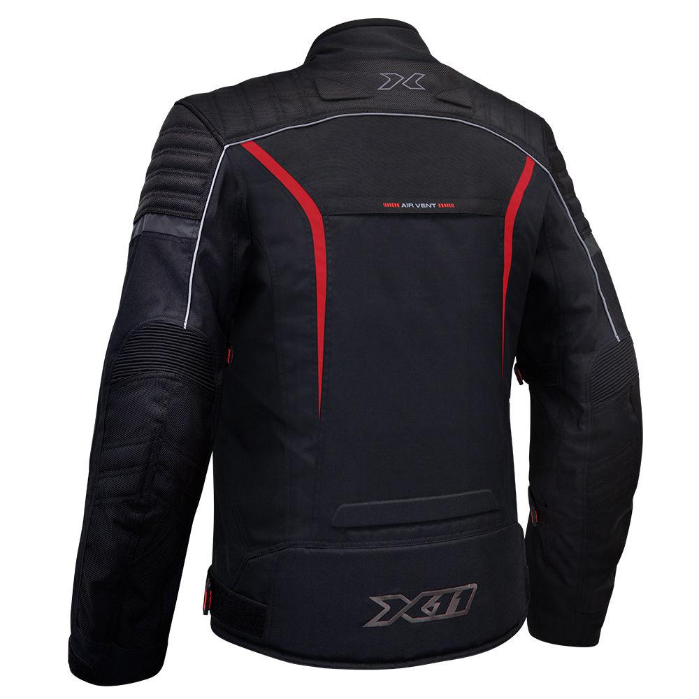 Jaqueta X11 Iron 2 Impermeavel Com Proteção Vermelho