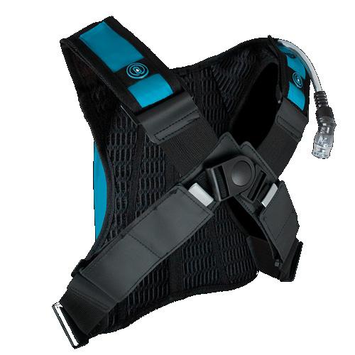 Mochila Bolsa De Hidratação Asw Tank Lite 2 Litros - Azul