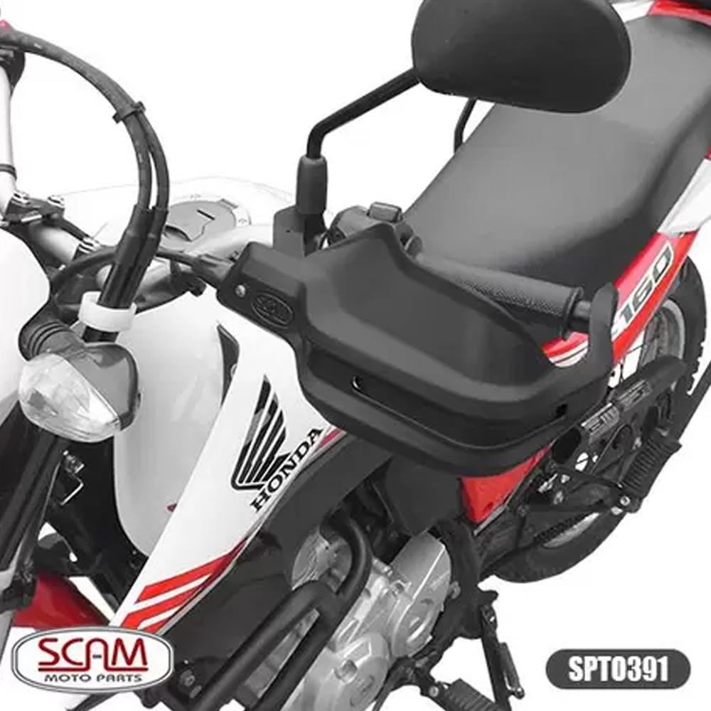 Protetor de Mão Scam XRE190/ Bros 160 - Spto391