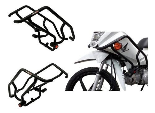 Protetor de Motor e Carenagem Coyote c/ pedaleira Honda Pop 110 i