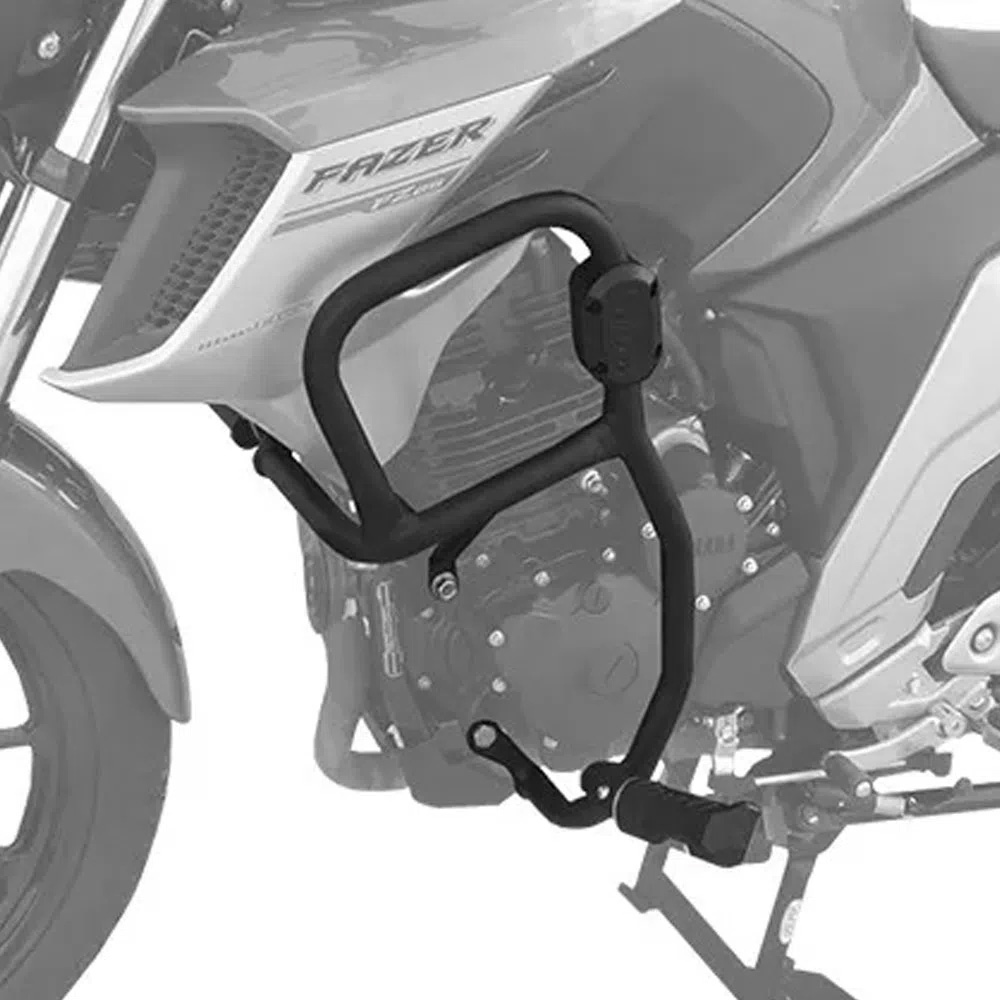 Protetor de Motor e Carenagem Fazer 250 2018+ Scam c/ pedaleira