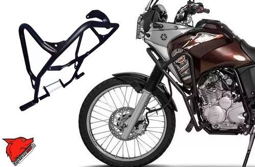 Protetor Motor Carenagem Coyote Preto C/ Pedais Yamaha Teneré 250