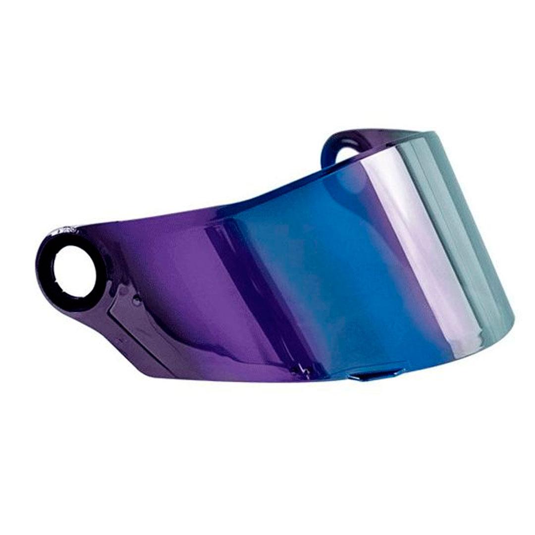 Viseira Capacete LS2 FF358 Classic Iridium Rainbow Camaleão Original
