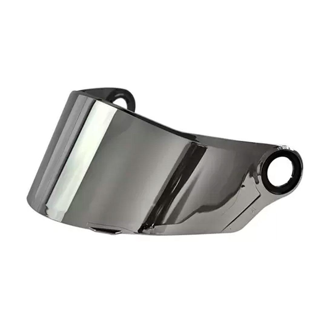Viseira Capacete LS2 FF358 Classic Iridium Silver Prata Cromada Original
