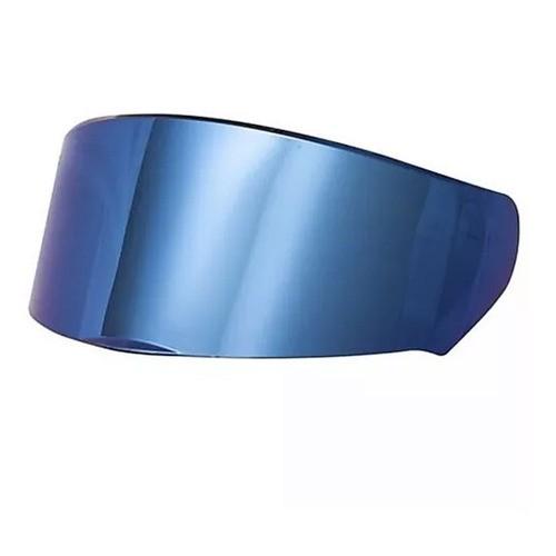Viseira Ls2 Ff353 Rapid Ff320 Stream Iridium Azul Original