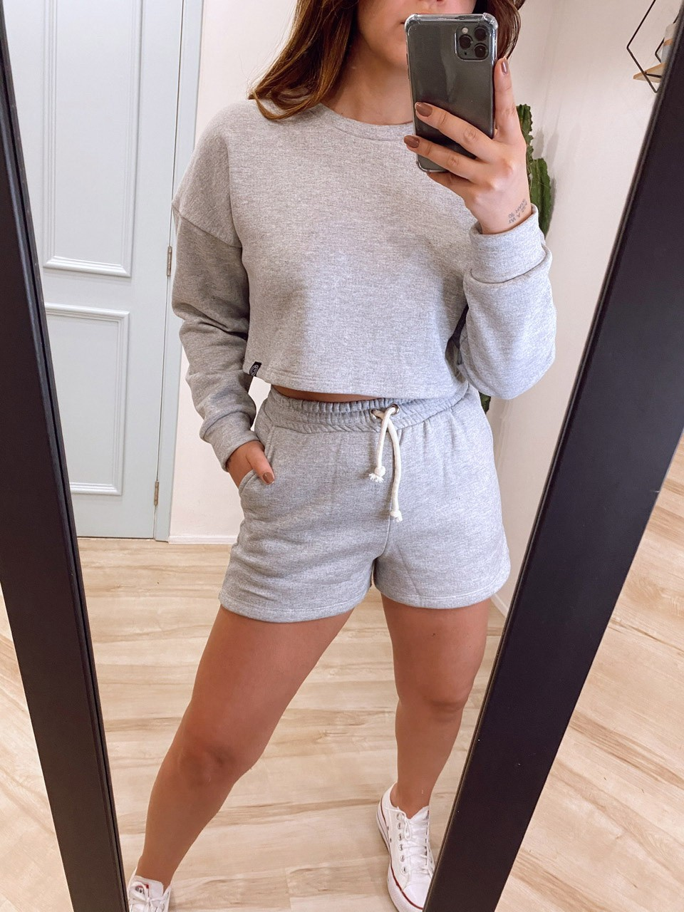 Conjunto Moletom | Shorts
