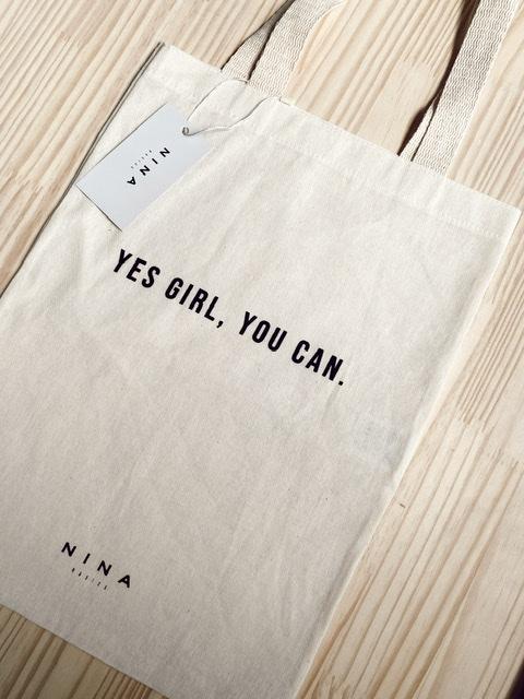 Ecobag | Yes girl, you can