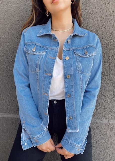 Jaqueta Jeans Básica