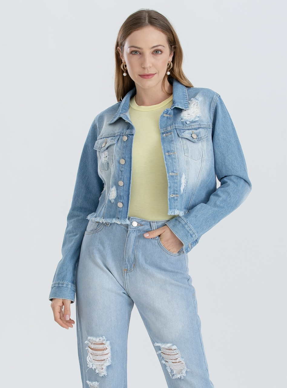 Jaqueta Jeans | Cropped