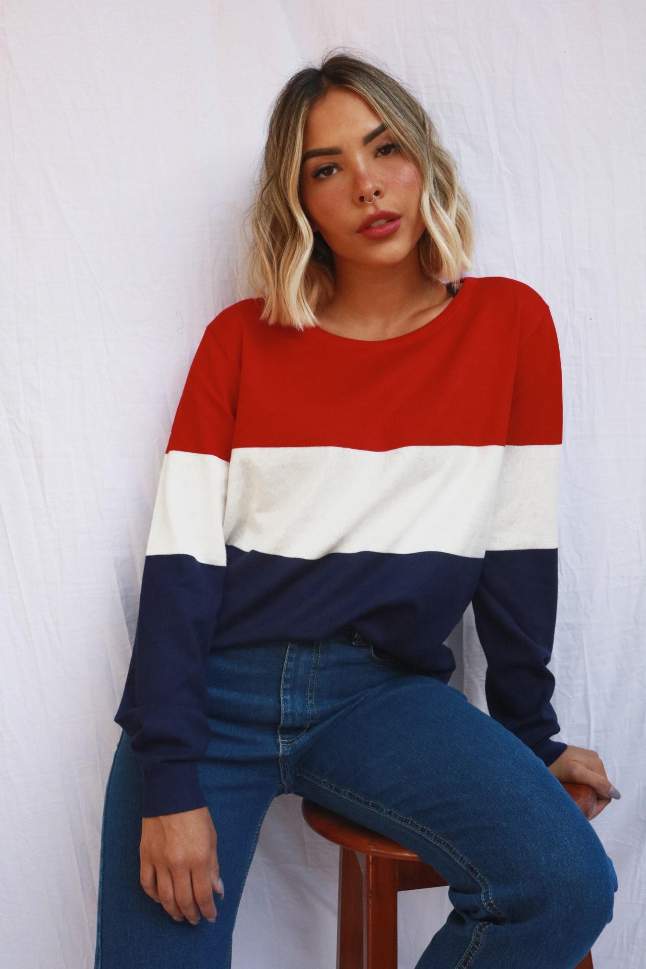 Suéter Lola | Tricolor