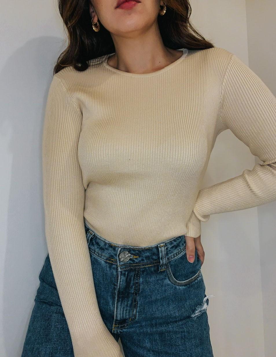 Suéter Louise | Canelado