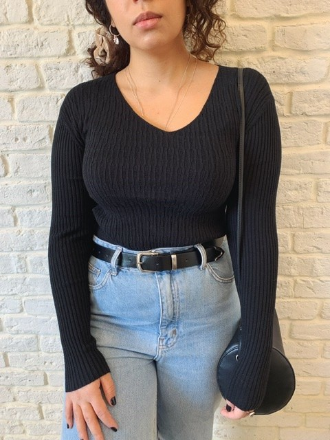 Suéter Textura