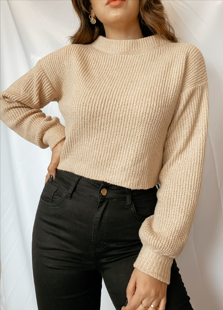 Tricot Mousse | Cropped
