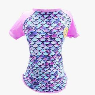 Camisa Escamas com proteção UV