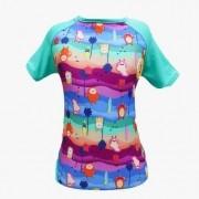 Camisa Monstrinhos com proteção UV
