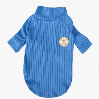 Blusa Canelada Azul