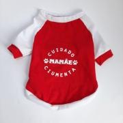Camiseta Mamãe Ciumenta Vermelha