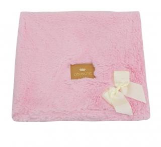 Cobertor de Pelo Duplo - Bear Rosa