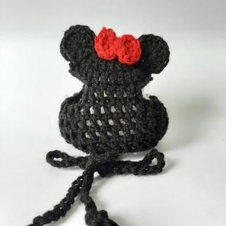 Gorro de tricô Minnie