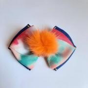 Laço Jeans Tie Dye Coral