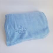Manta Microfibra Azul
