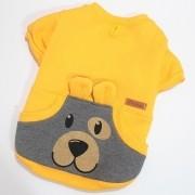 Moletom Urso Amarelo| Peça Única