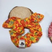 Scrunchie Flowers Amarelo