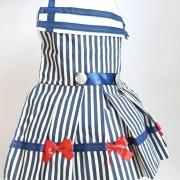 Vestido Marinheira Listas