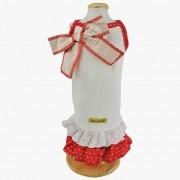 Vestido Mimy Encantê Coração Vermelho
