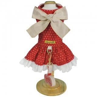 Vestido Sophie Encantê Coração Vermelho