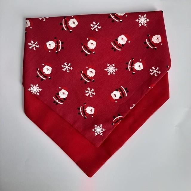 Bandana Dupla Natal Vermelha