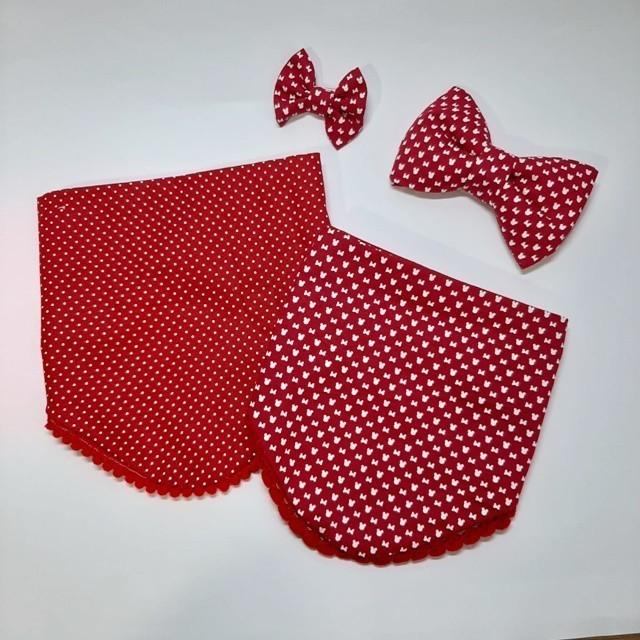 Bandana Minnie Vermelha
