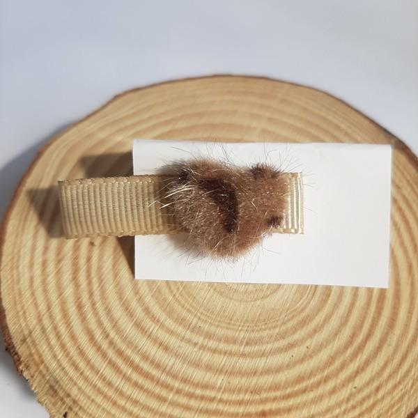 Bico de Pato Coração Mini Oncinha