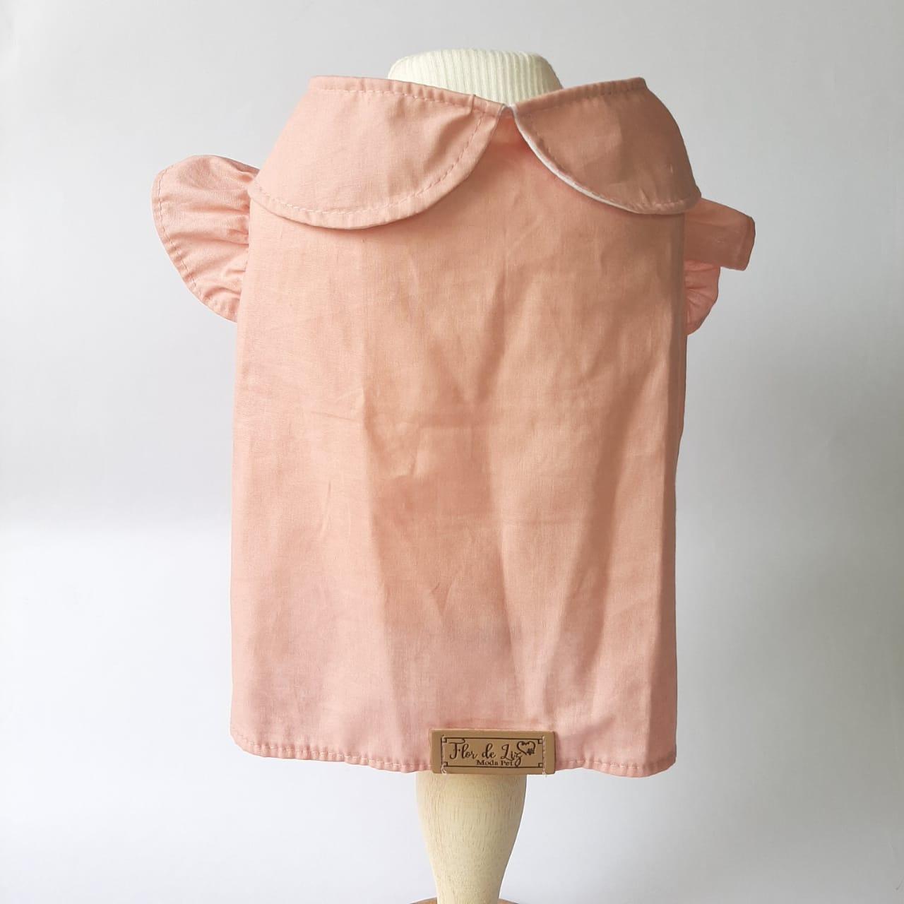 Camisa Boneca Rosa